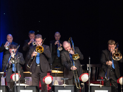 David Pearce with the Nick Ross Orchestra